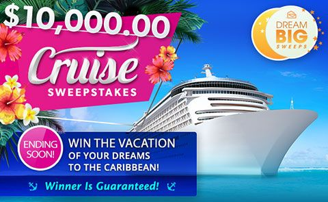 PCH Cruise Giveaway Sweepstakes