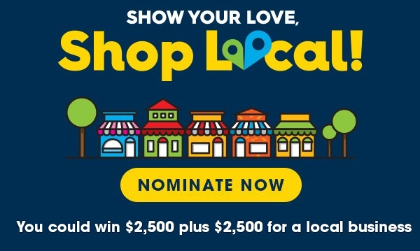 Valpak Show Your Love Shop Local Sweepstakes
